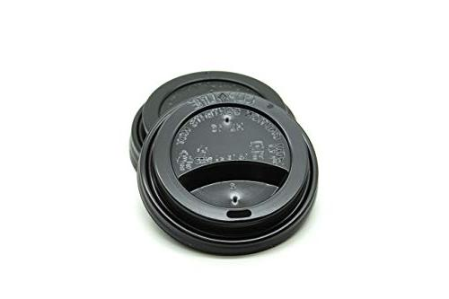 Premium Black Thermo Lids Ounce Hot Cups, Keeps your
