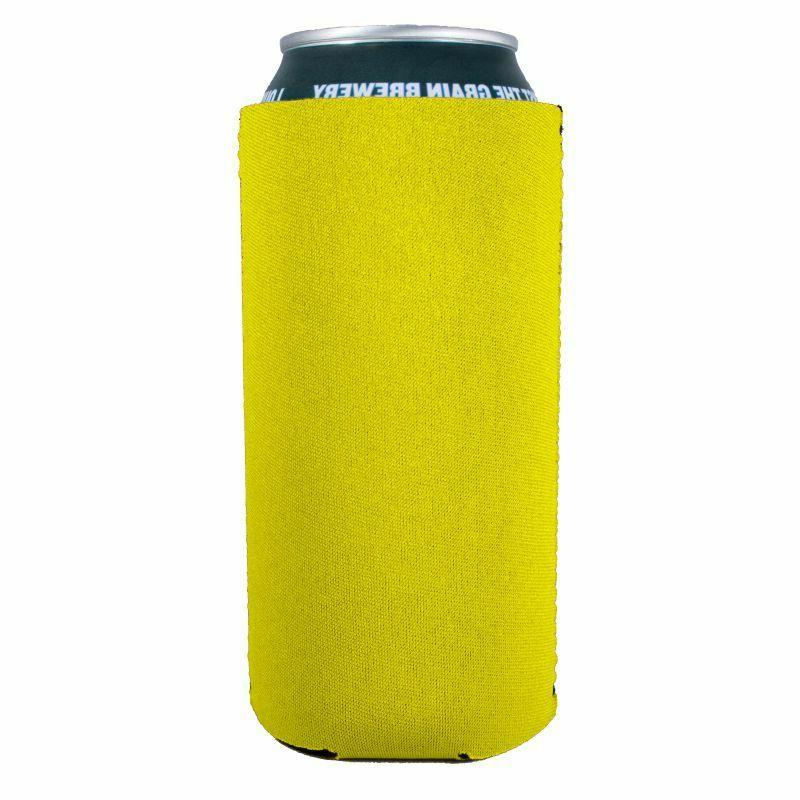 blank neoprene collapsible 16 oz can coolie