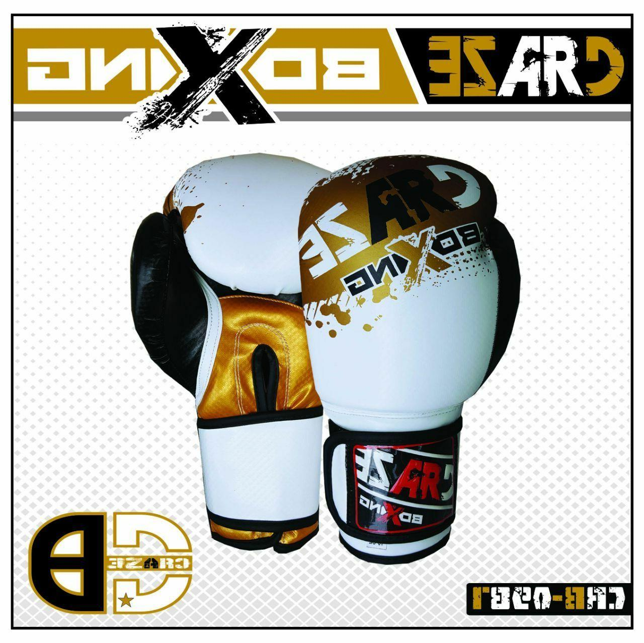 boxing gloves men pu mma ufc leather