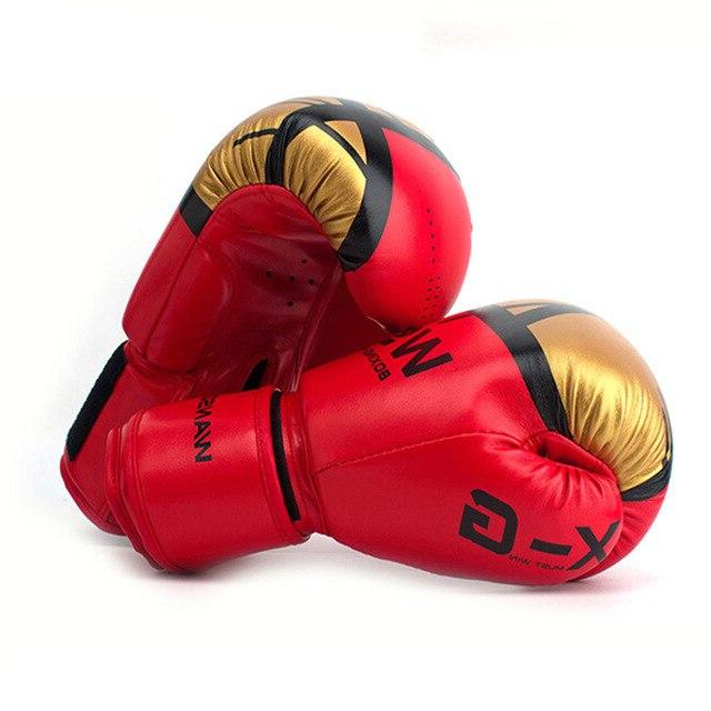 WANSDA Boxing Gloves Men MMA Fight Glove box Pro gloves For 12 <font><b>16</b></font>