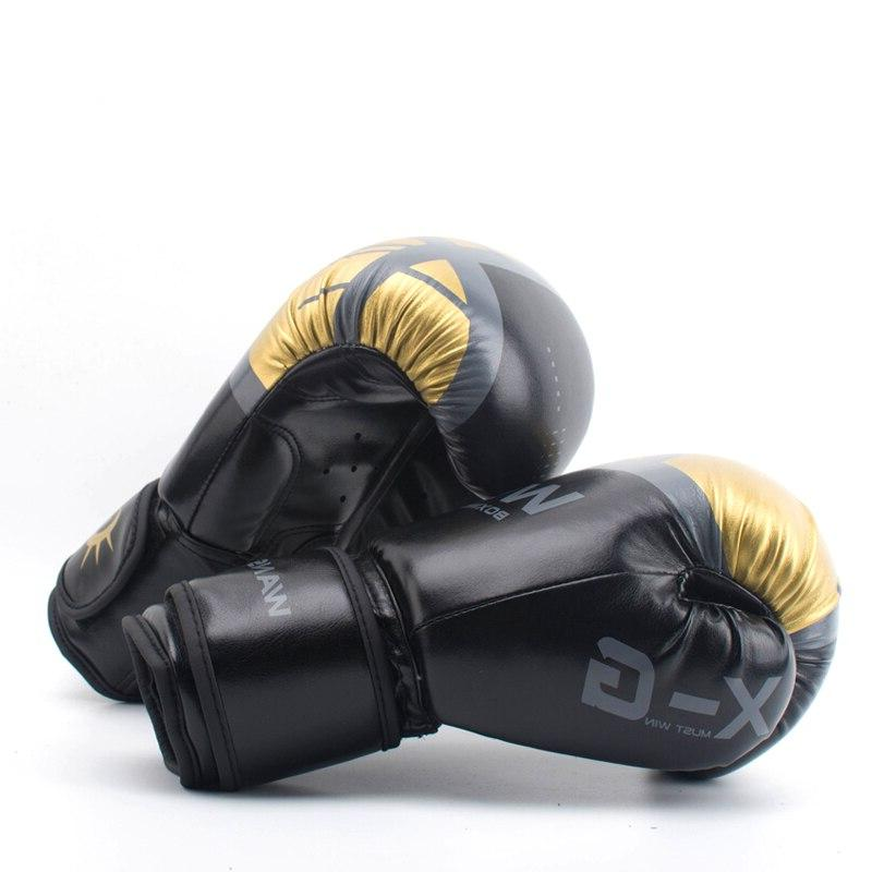WANSDA Gloves Men Fight Glove luva box boxing gloves For Training 12