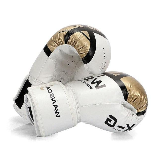 WANSDA Gloves Men MMA Thai Fight Glove luva For 8 12 <font><b>16</b></font>