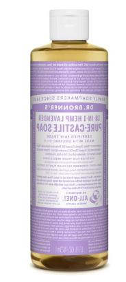 Dr Bronners Magic Soap All One Csla16/76416 16 Oz Lavender D