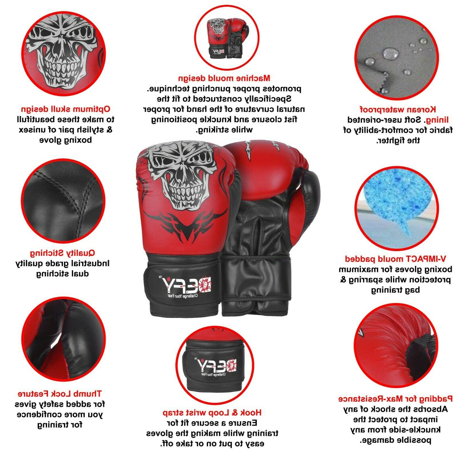DEFY® Boxing Punch Training MMA Fight Red