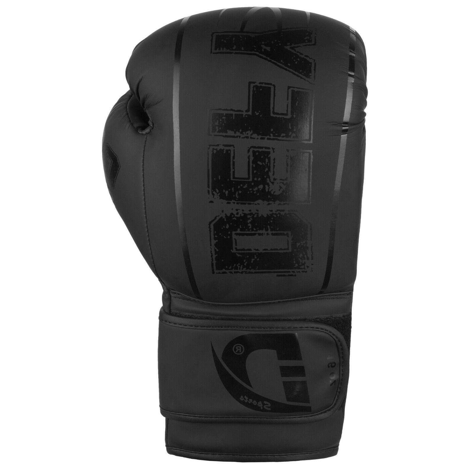 DEFY® Synthetic Leather Boxing Glove Thai Training Punching Bag Gloves