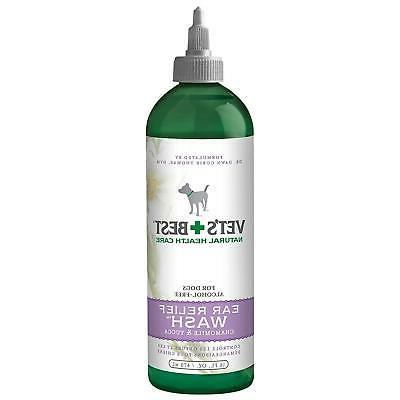 dog ear wash cleaner care cleaning solution