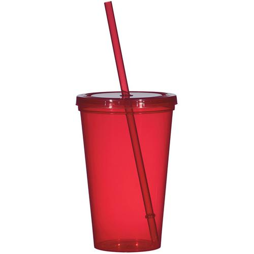 Double-Wall Plastic Tumblers Lids color