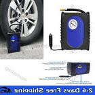 Electric Car Tire Inflator Air Pump Compressor Portable Heav