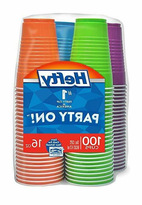 Hefty Disposable Plastic in 16 Count