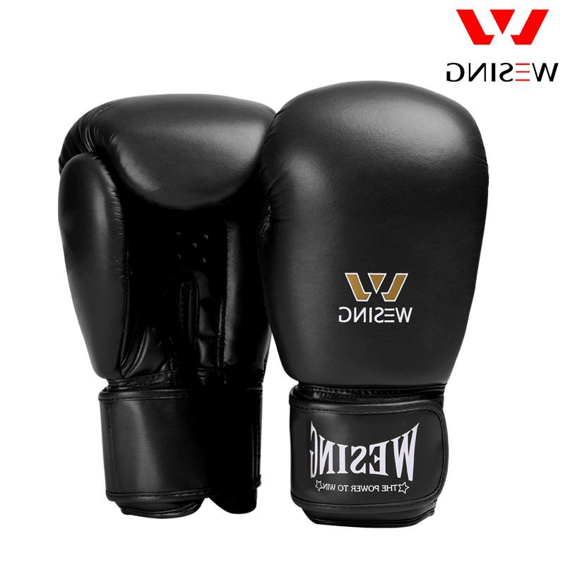 micro fiber leather boxing gloves adult fight