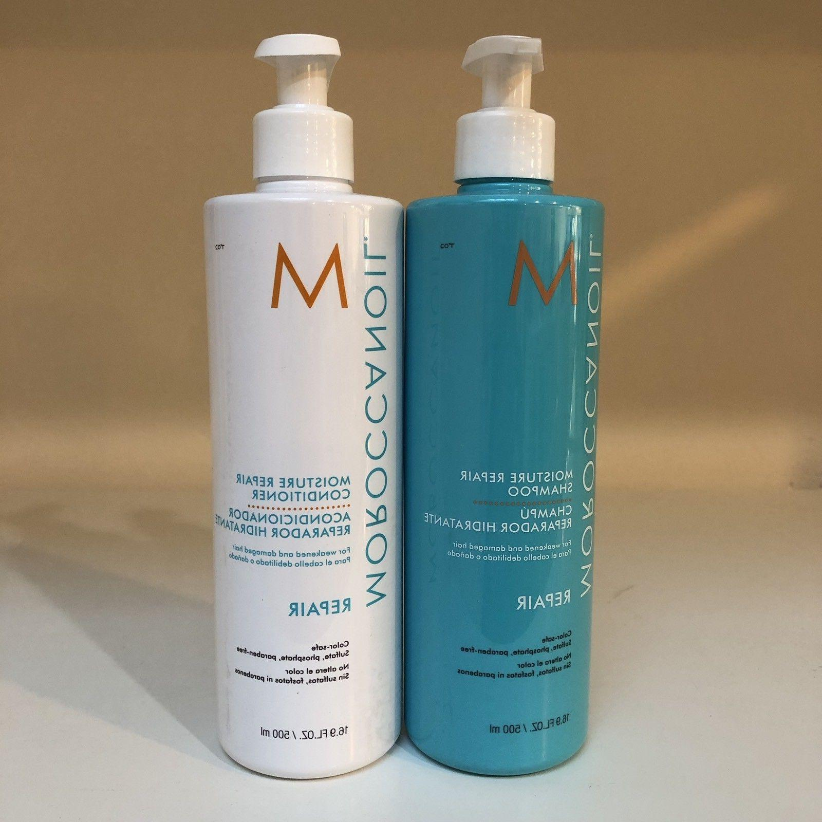Moroccan Moisture Repair Shampoo & Conditioner - 8oz,
