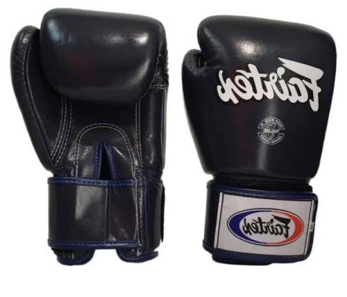 FAIRTEX Thai Gloves 16 Muay Thai Fairtex Black
