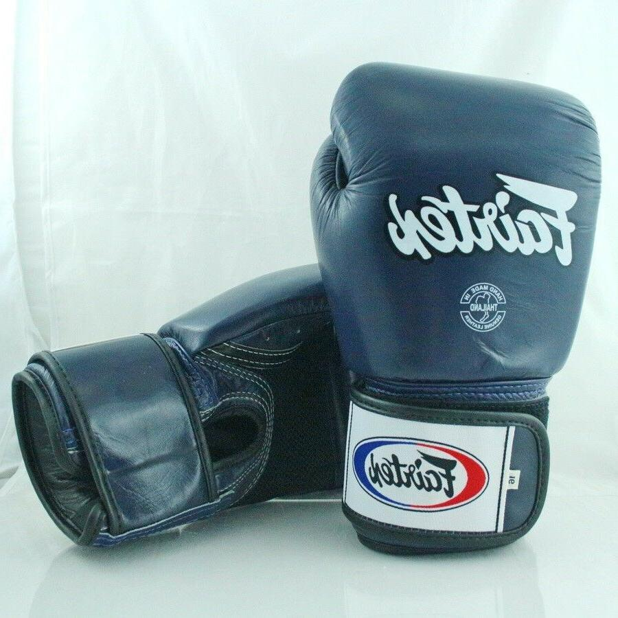 FAIRTEX MUAY BOXING BLUE BREATHABLE SPARRING MMA K1