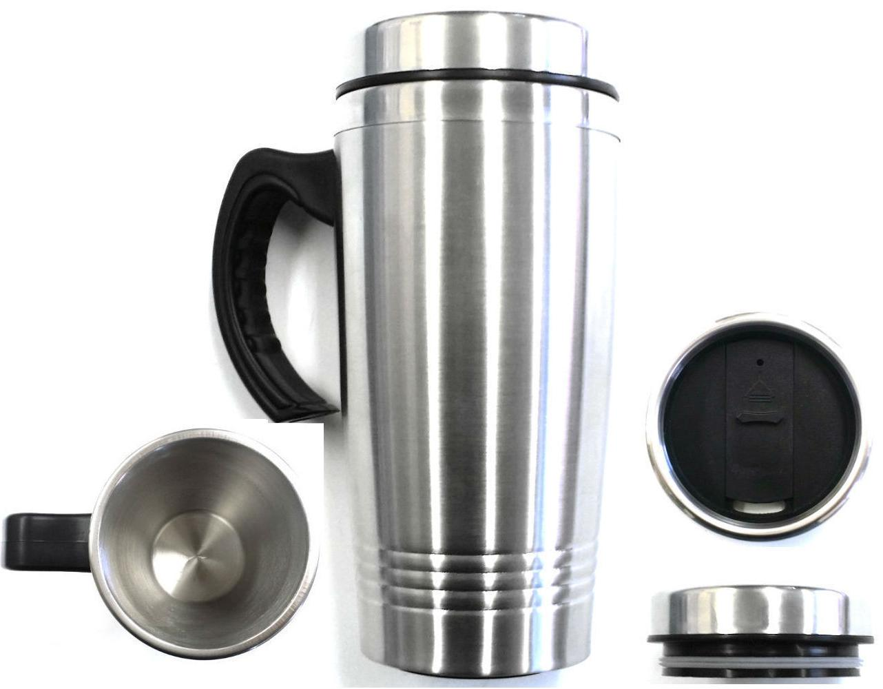 new 16oz stainless steel coffee cup