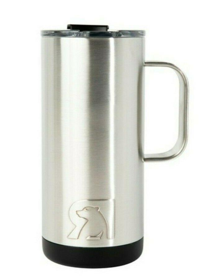 New RTIC 16oz Coffee Cup ~ Stainless Steel