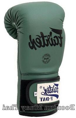 New Green Muay Boxing Gloves MMA