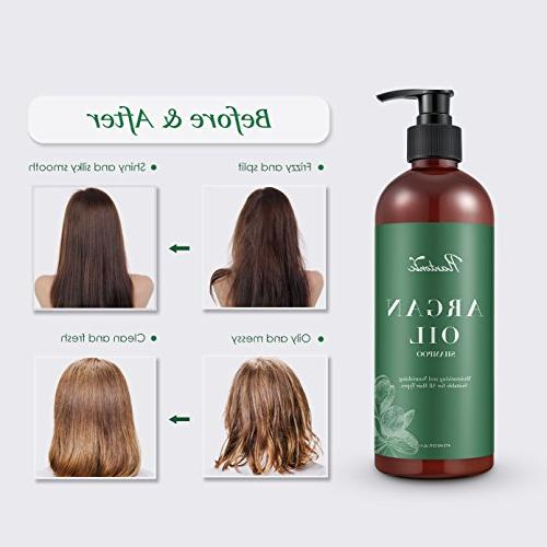 Plantonic Organic Oil Moisturizing & Shampoo Keratin for Women Men, for Colored All Hair fl. oz