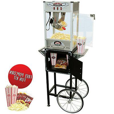 Funtime OZ Commercial Popcorn Popper Machine Maker