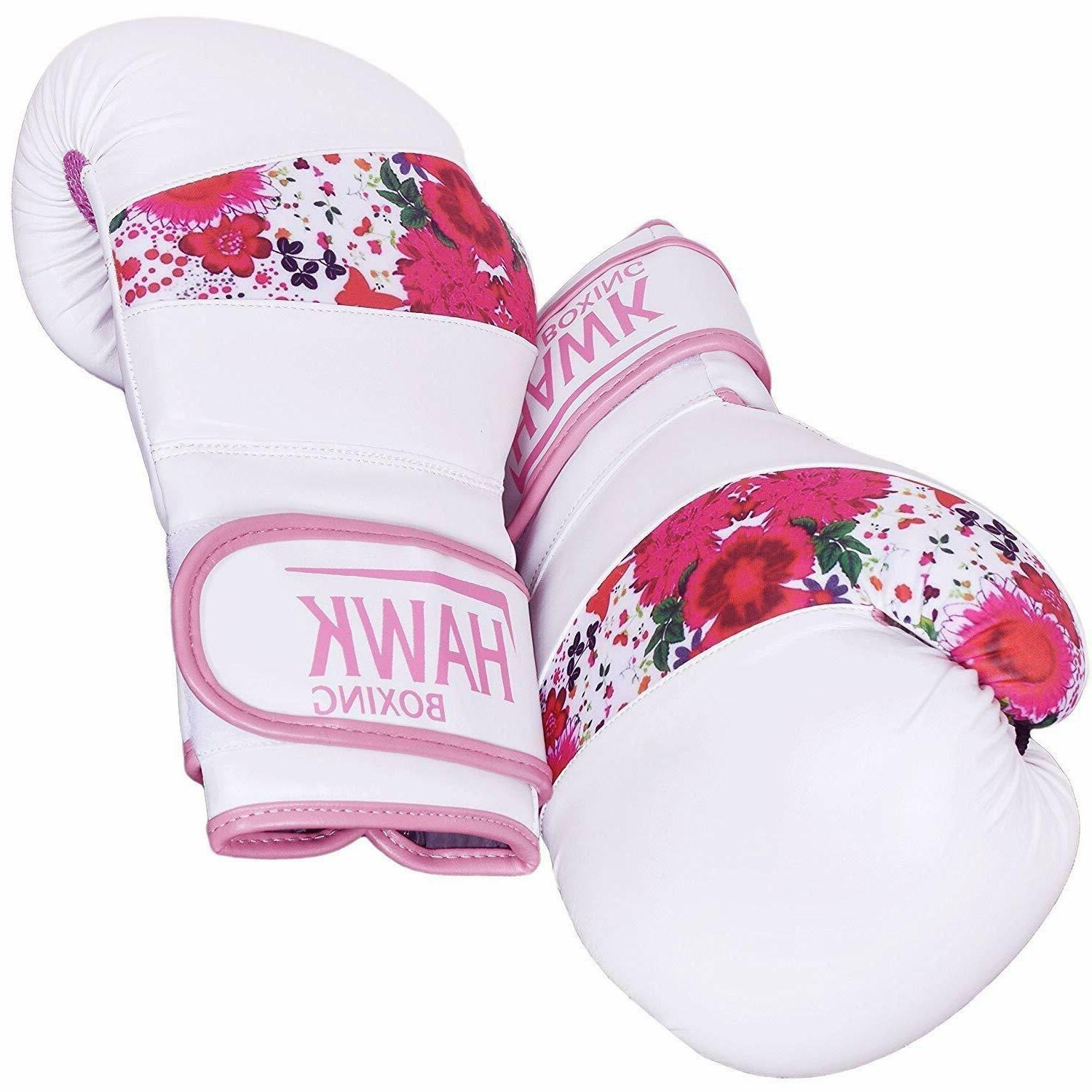 Pink Gloves Training Sparring Muay Thai