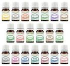 20 Essential Oil Gift Set Sampler Kit 5 ml. Pure Therapeutic