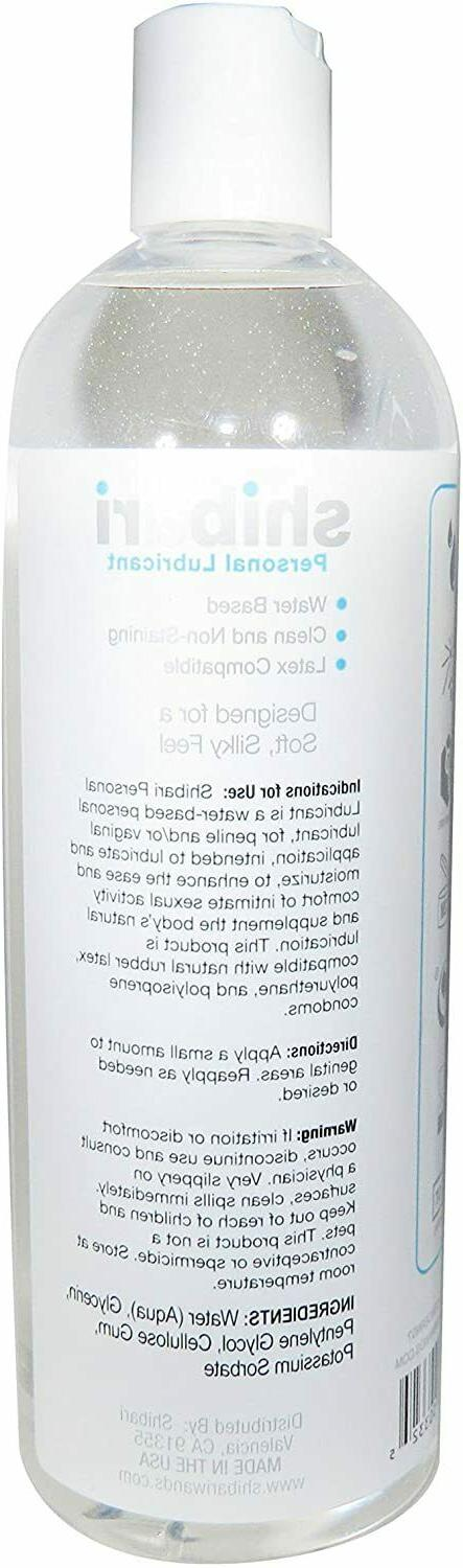 Premium Personal Lubricant, Water Based Lube,Hypoallergenic, Oz