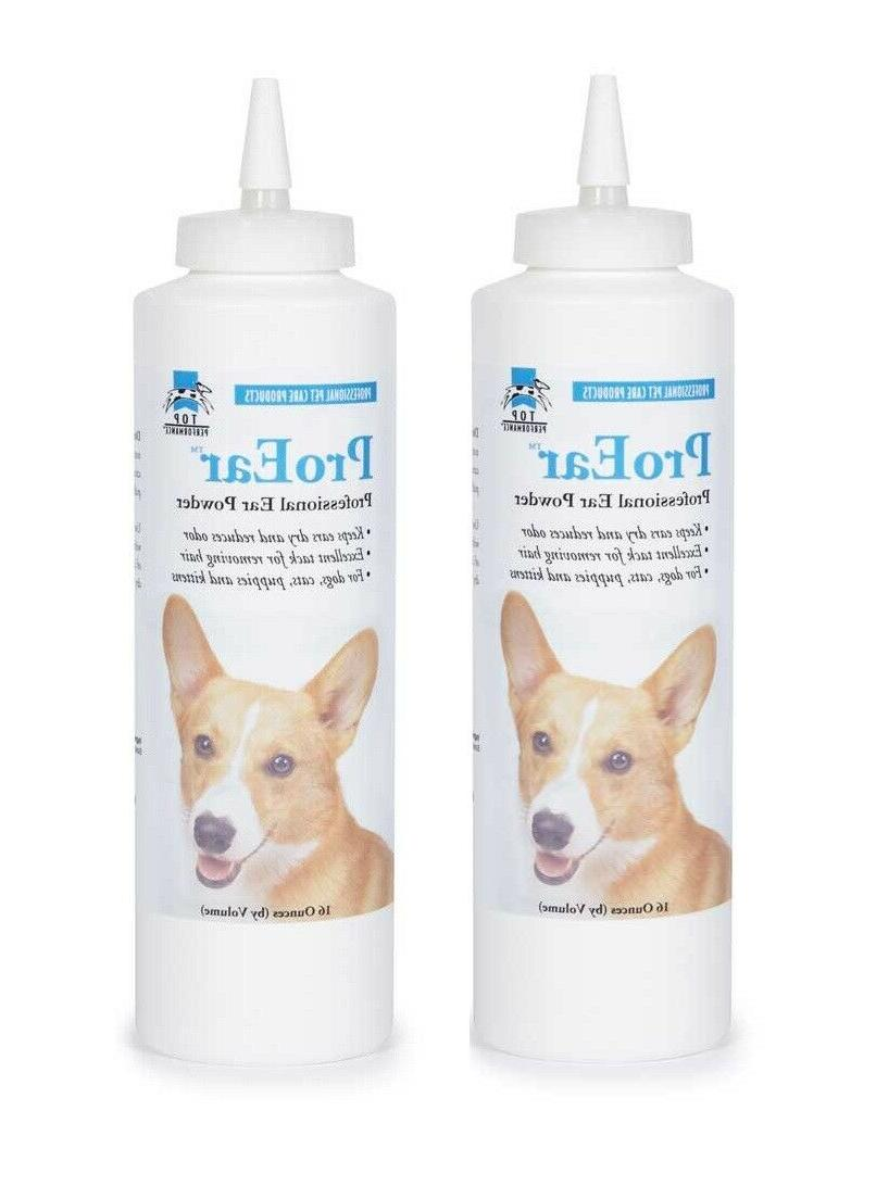 Professional Pet Grooming Powder Dog Care Bottle