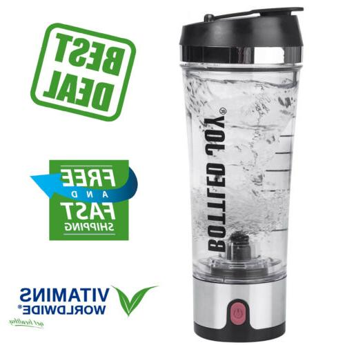 protein shaker bottle usb rechargeable