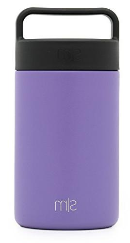Simple 16oz Food Jar with Lid - Thermos Leak Storage Container Flask