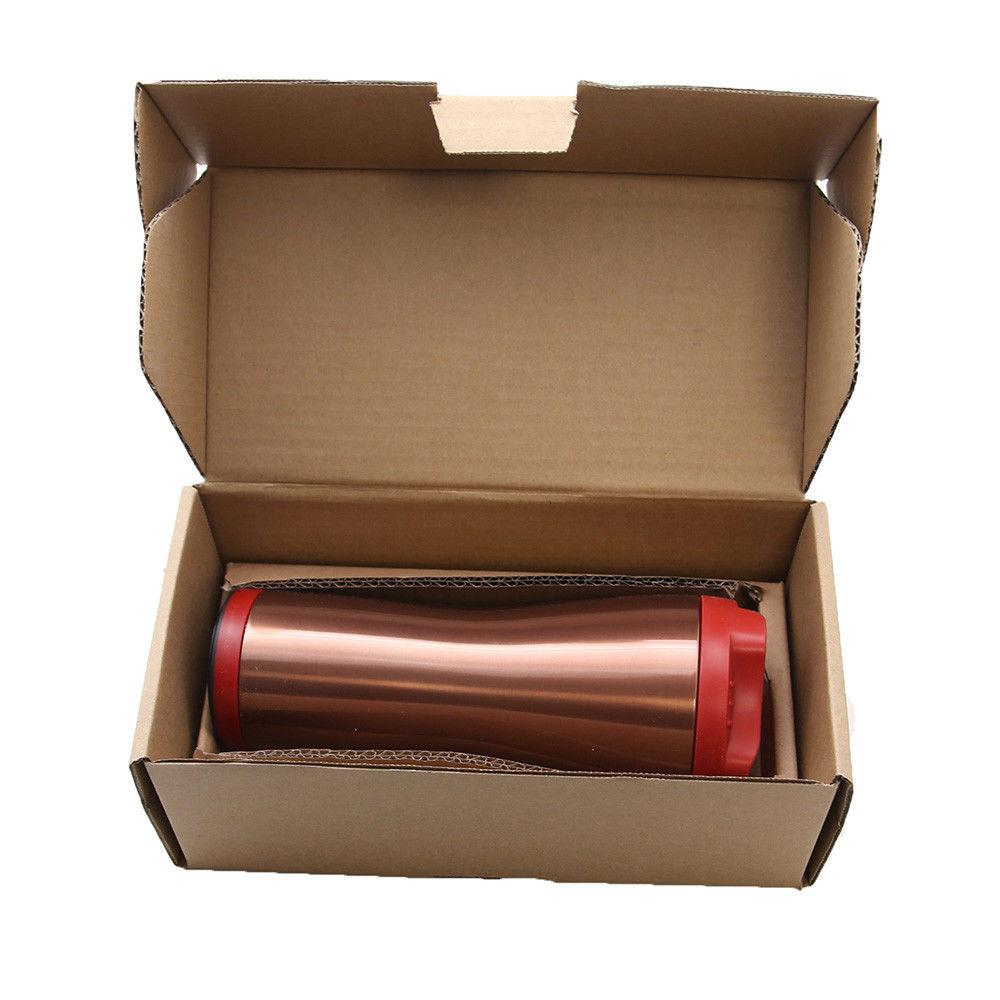 Red Ceramic-Lined Double-Insulated Hot 16 Oz. BulbHead