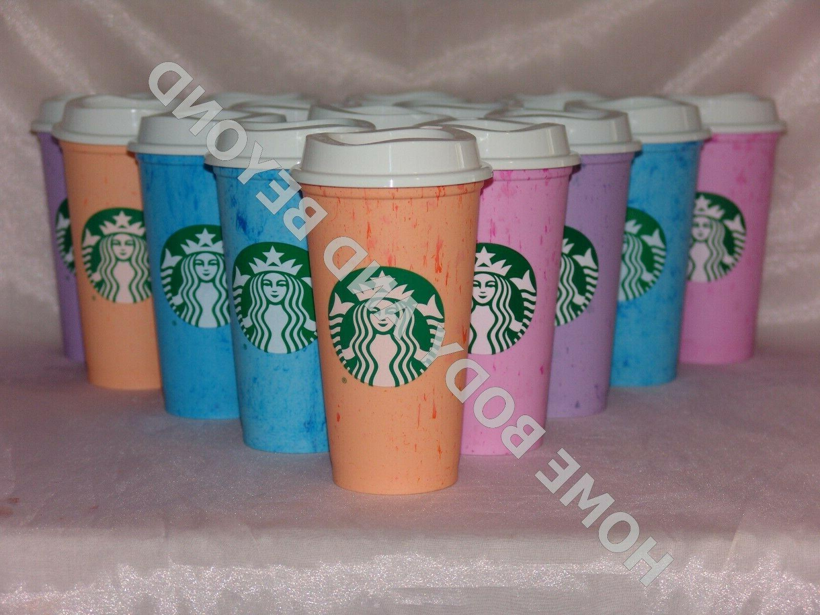 reusable grande 16 oz plastic coffee tea