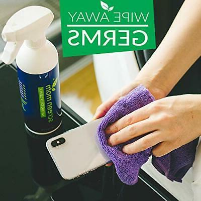 Screen Cleaner Kit - Best for & LCD TV Laptop and iPad
