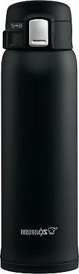 Zojirushi SM-SHE48BZ Stainless Steel Mug, 16 ounce, Black Ma