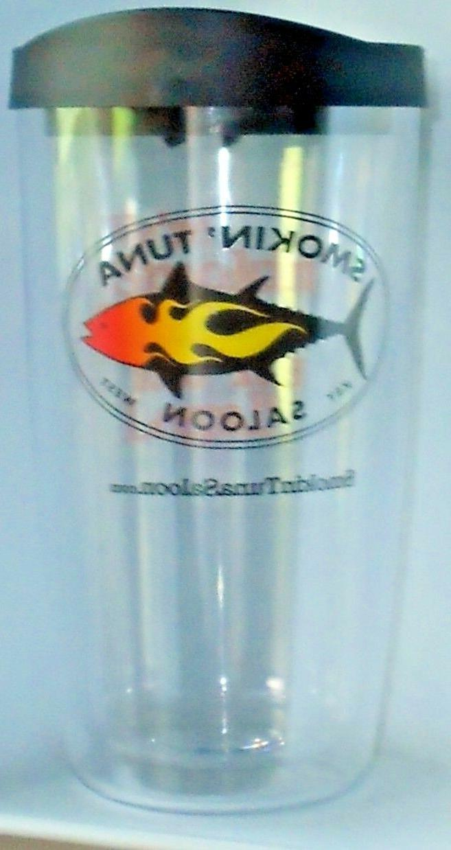Smokin Tuna Saloon Key West Covocup Tumbler With Lid 16 oz N