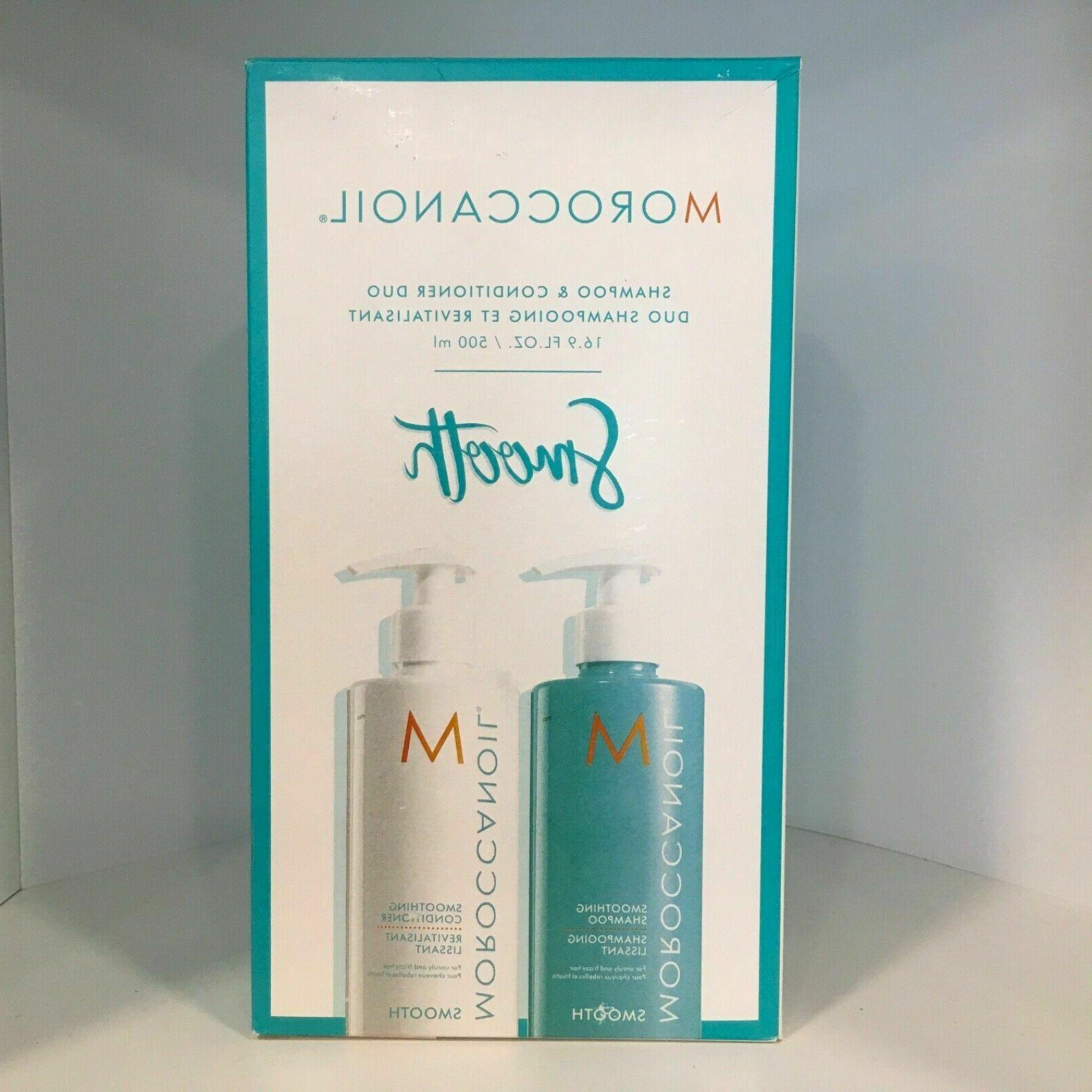 Moroccanoil Smooth Shampoo & Conditioner DUO FAST FREE