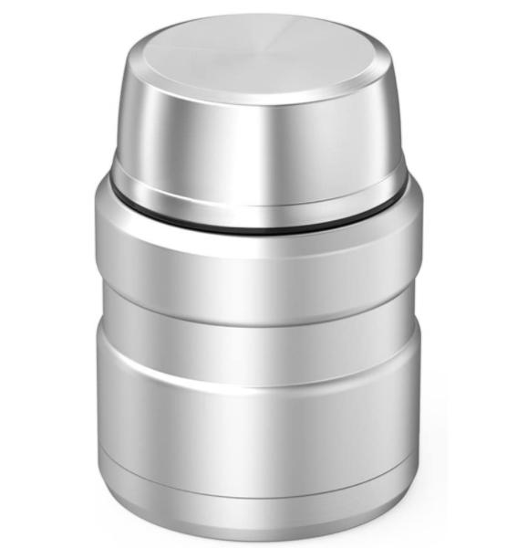 Thermos Stainless King 16 Ounce Food Jar Folding Spoon,