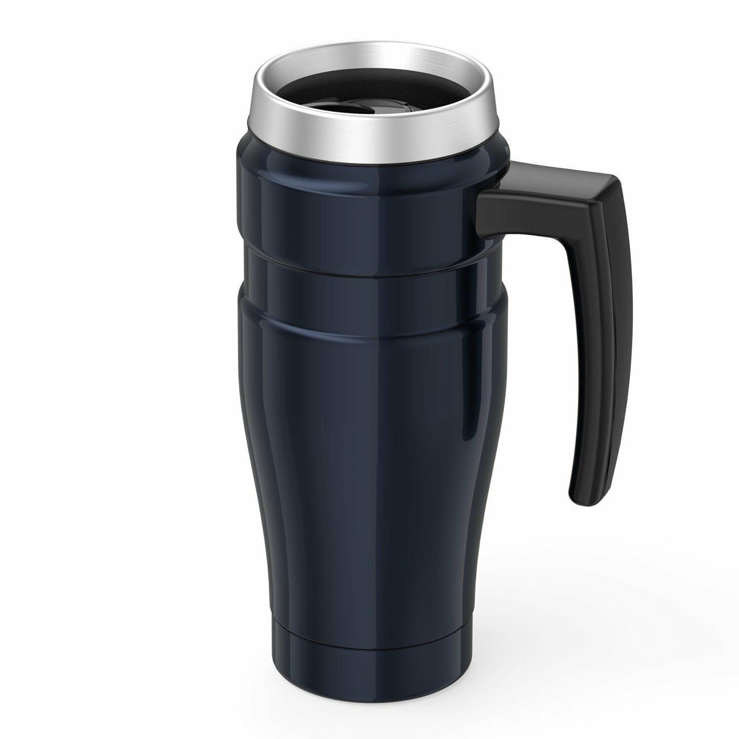 Thermos Stainless King 16-Ounce Travel Handles