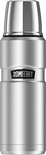 Thermos Stainless King 16 Ounce Compact Bottle, Stainless St