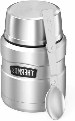 Thermos Stainless Insulated Food Jar Spoon -