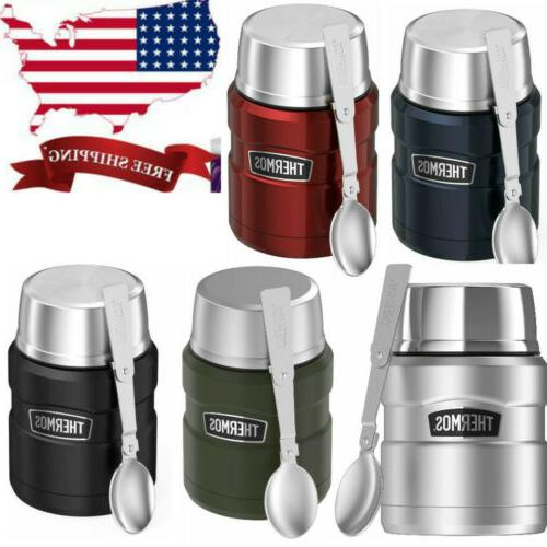stainless king vacuum insulated food jar w