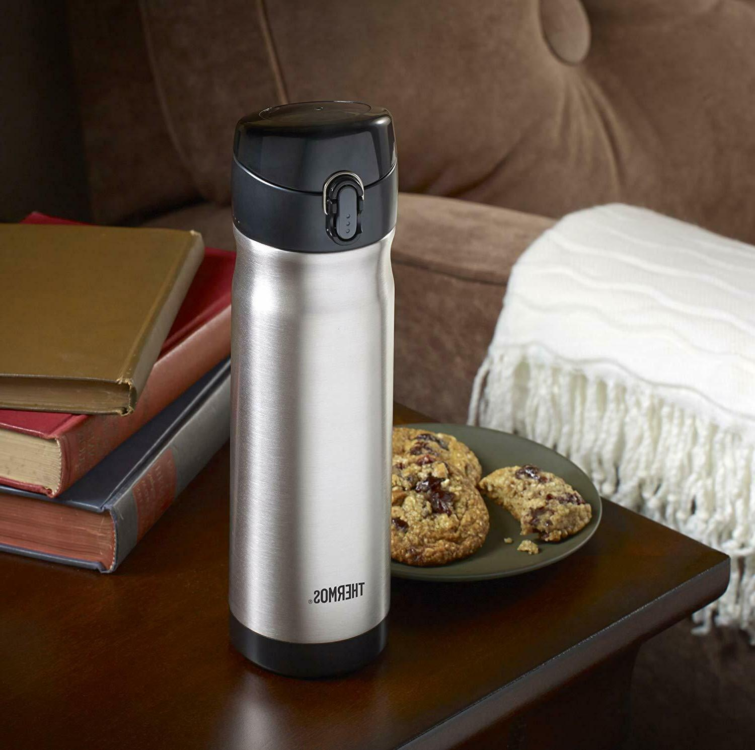 Thermos Steel Vacuum Insulated Bottle,16oz
