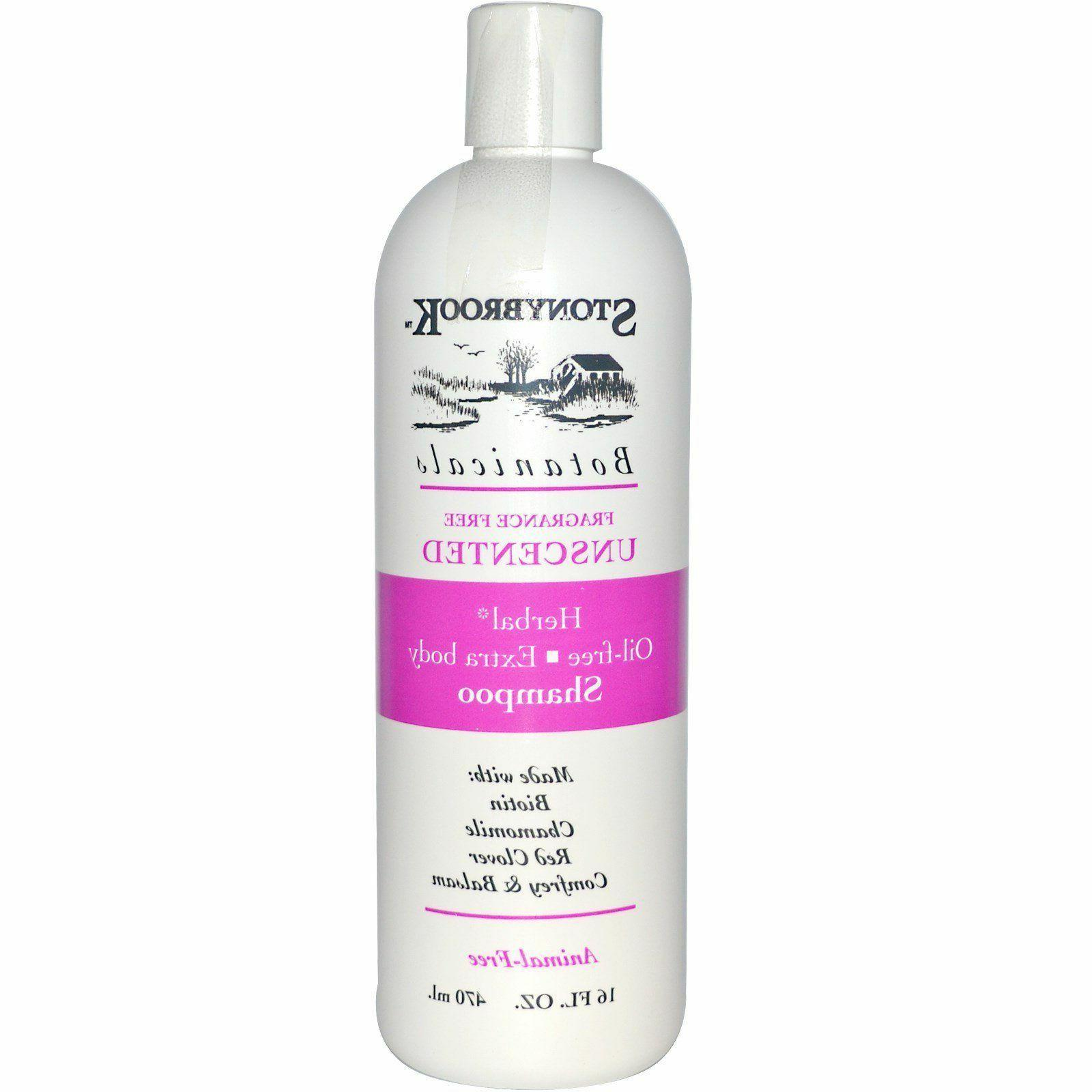 stony brook shampoo unscented fragrance and oil