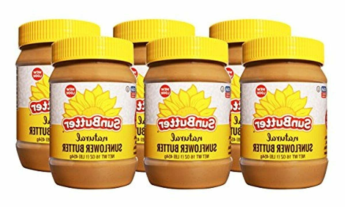 sunflower butter natural creamy 6 pack of