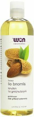 NOW Solutions Sweet Almond Oil 100% Pure Moisturizing Oil, 1