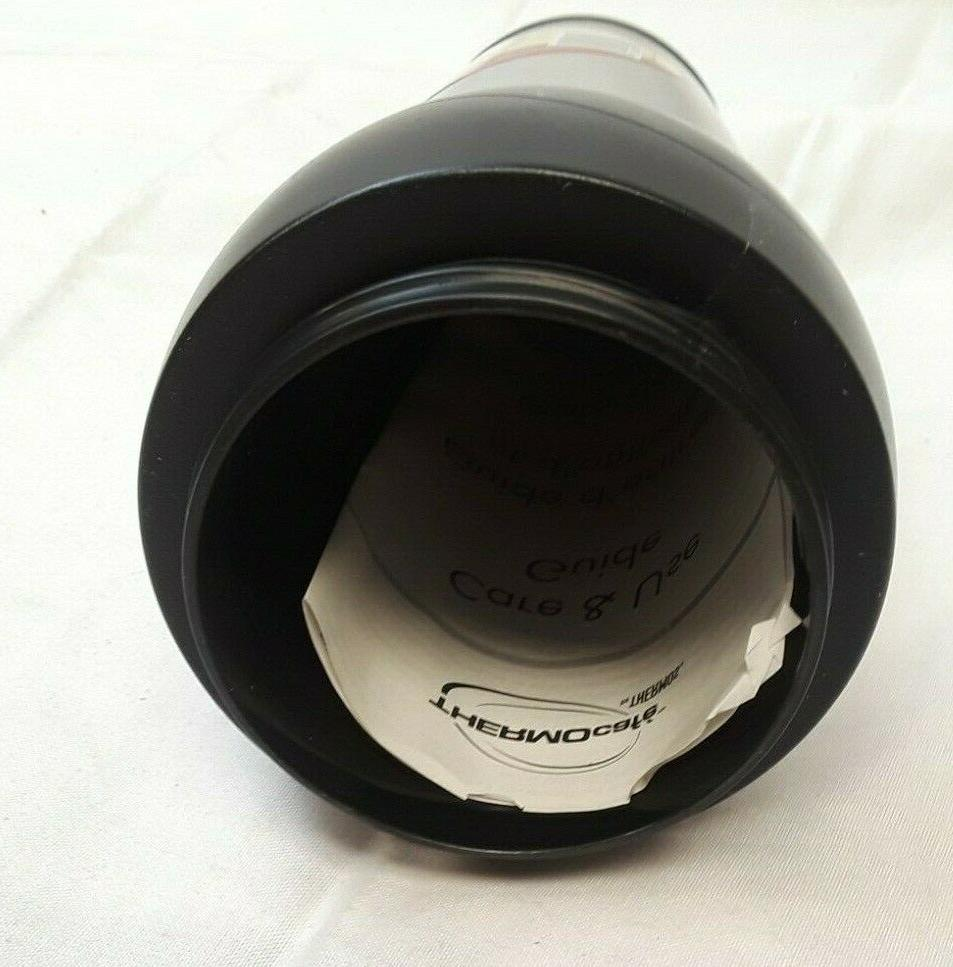 ThermoCafe Thermos Stainless oz. Hot/Cold Black