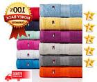 Tommy Hilfiger Bath Towel Collection 100% Cotton