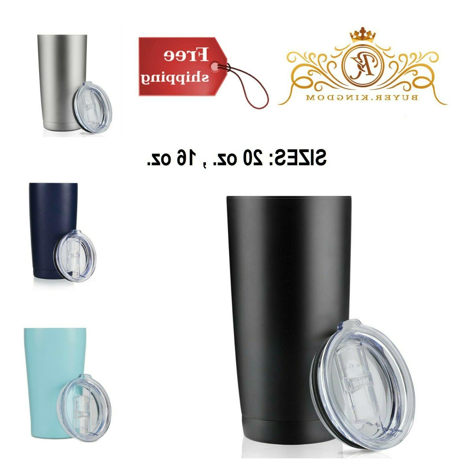 tumblers insulated stainless steel double wall travel