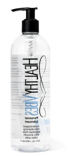 Water Based Personal Lubricant 16 oz by Healthy Vibes Intima