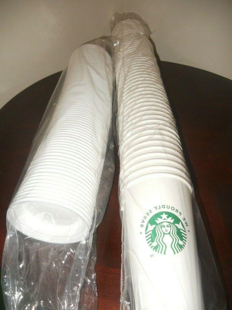 white disposable 16 ounce hot paper cups