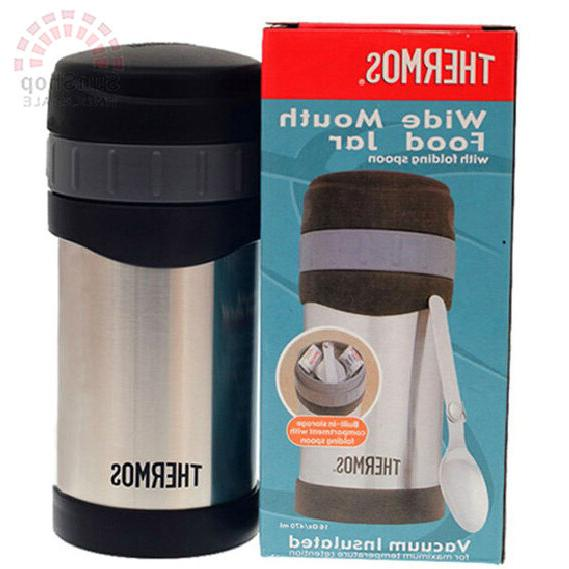 THERMOS Wide Mouth 470ml Vacuum Jar with