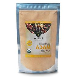 Maca Powder 16 Ounces, Organic Certified, GELATINIZED for en
